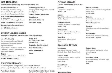 Panera Printable Catering Menu Onlyonesearch Results