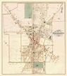 Borough of Doylestown, Pennsylvania 1891 - Old Map Reprint ...