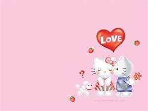 Love Wallpaper - Hello Kitty Wallpaper (2712800) - Fanpop