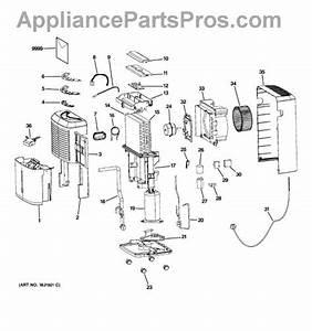 Parts For Ge Ahk50lkm1  Dehumidifier Parts