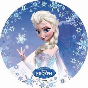 Gateaux La Reine Des Neiges : disque azyme la reine des neiges disney ~ Dallasstarsshop.com Idées de Décoration