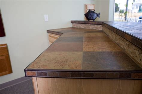 Tile Countertop by Tile Countertops Pictures Tiled Kitchen Countertop A