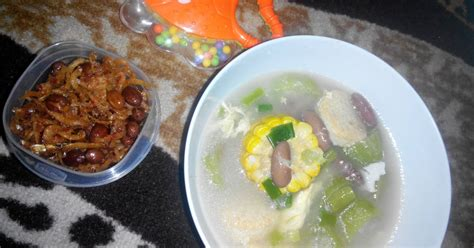 Resep sayur timun kuah telur yang enak dan gurih. Resep sayur oyong serabut telur oleh Monique Firsty - Cookpad