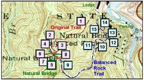 virtual field trip trail  natural bridge kentucky