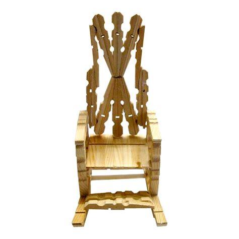 objet en pince a linge en bois fauteuil en pinces 224 linge id 233 es conseils et tuto maquettes et miniatures