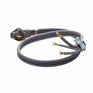 Smart Choice 4 Ft  50 Amp 3-prong Range Cord-5304493423