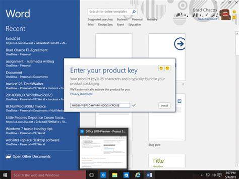 Office 365 Activation Key by Microsoft Office 2016 Activation Key Free