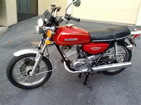 Suzuki Gt250 by Suzuki Gt250 1976 No Reserve For Sale On 2040motos