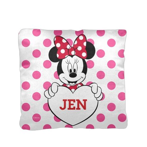 minnie mouse pillow disney minnie mouse pillow custom pillows home decor