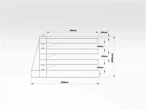 horizontal steel plate storage rack bend tech group