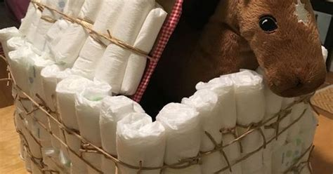 Horse In A Barn  Ee  Diaper Ee   Cake  Ee  Diaper Ee   Cakes Are Boring