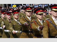 Just 6% of British army uniforms are made in the UK while