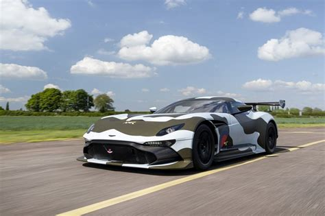 only road legal aston martin vulcan taking part in gumball 3000