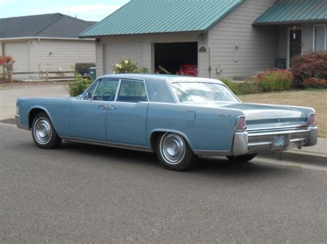 1965 Lincoln Continental 42k Original Miles Restored And