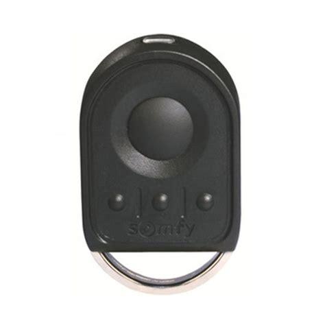 telecommande de porte de garage t 233 l 233 commande somfy keygo 4 rts pour porte de garage voletshop