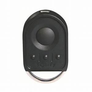 Telecommande somfy keygo 4 rts pour porte de garage for Telecommande porte de garage somfy