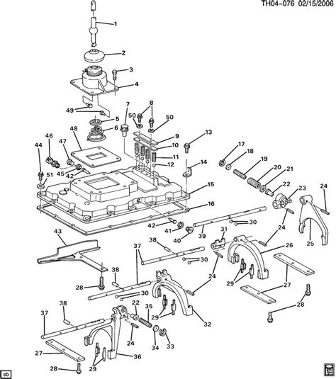 18 Speed Transmission Diagram by Eaton Fuller Transmission Parts Diagram
