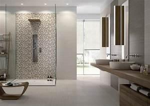 Salle De Bain Contemporaine : appealing faience salle de bain moderne pictures best ~ Dailycaller-alerts.com Idées de Décoration
