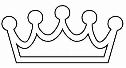 Crown Outline Clip Clker Royalty Clipart