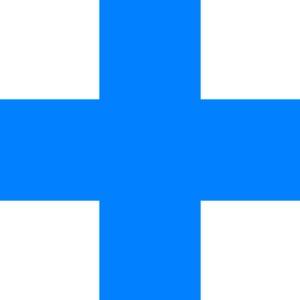Blue Cross Clip Art At Clkercom  Vector Clip Art Online