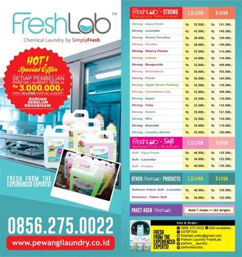 daftar harga pewangi laundry softener  emulsion