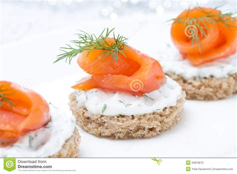 canape appetizer festive appetizer canape with rye bread cheese