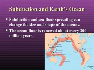 2013 updated plate tectonics new one use this one for How does subduction change the ocean floor
