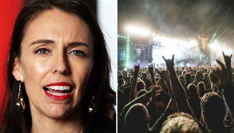 prime minister jacinda ardern supports festival drug