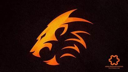 Lion Tutorial Animal Adobe Esport Head Illustrator