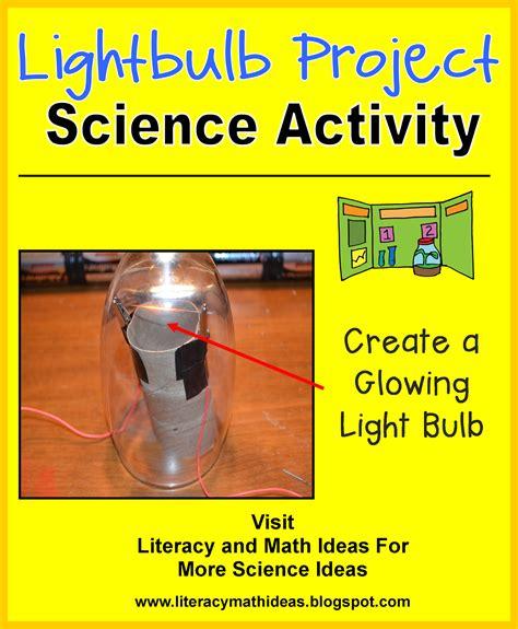 literacy math ideas stem in the classroom make a lightbulb