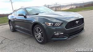 2015 Ford Mustang EcoBoost Premium In-Depth Tour - YouTube