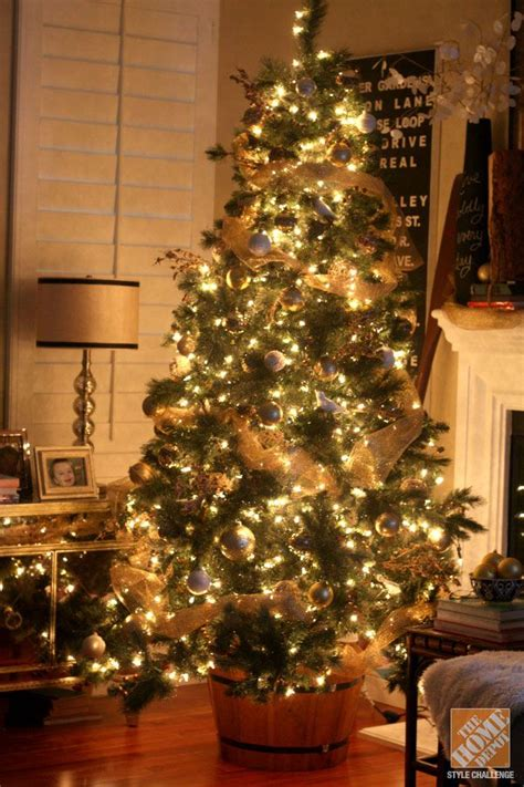 awesome ideas for gold christmas tree decoration happy