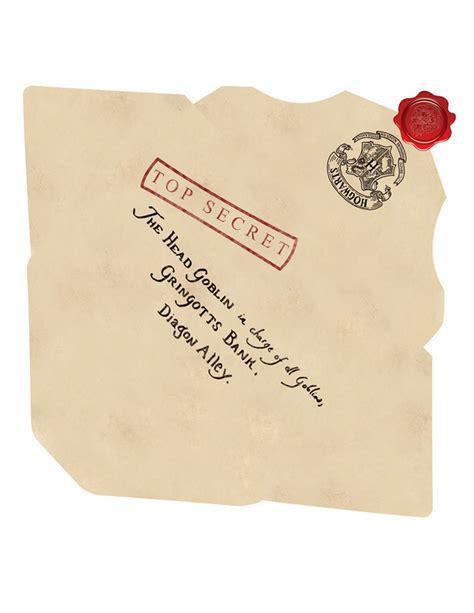 making  envelope   hogwarts acceptance letter