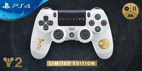 Limited edition Destiny 2 Dualshock 4 controller, new PS4
