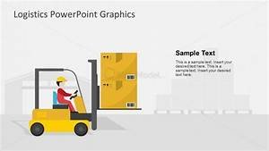 Forklift Machine Slide of Warehouse Template - SlideModel