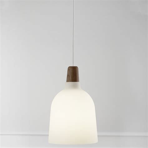 nordlux karma large glass pendant light in white