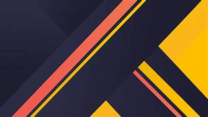 4k Material Yellow Stripes Wallpapers