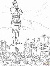 Nebuchadnezzar King Coloring Pages Printable Getcolorings sketch template