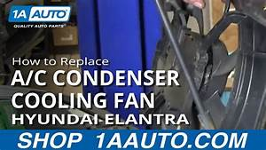 How To Replace A  C Condenser Cooling Fan 01