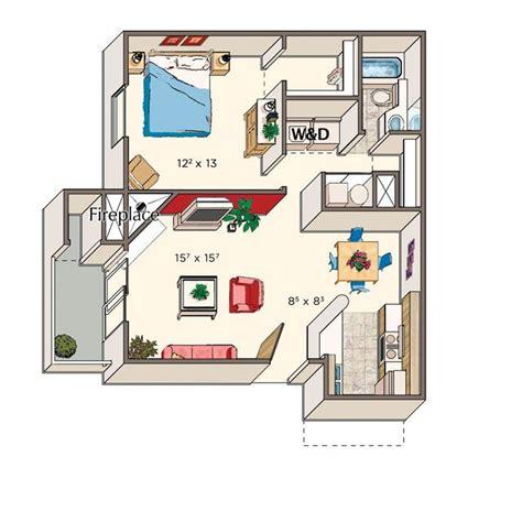 good  sq ft apartment   sq ft floor plans