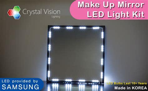 Amazon.com : Crystal Vision Make up Mirror LED Light Kit