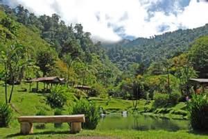 Costa Rica Mountain Scenery