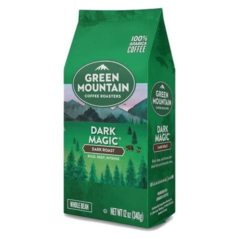 0 calories, nutrition grade (a minus), problematic ingredients, and more. Green Mountain Dark Magic Dark Roast Ground Coffee - 12oz ...