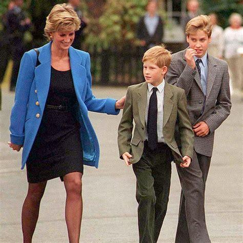 Prince William and Harry Princess Diana