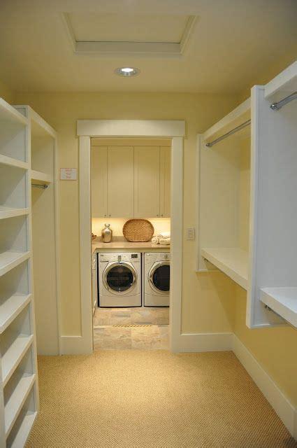 washer dryer    side   master closet woah dream laundry room laundry room