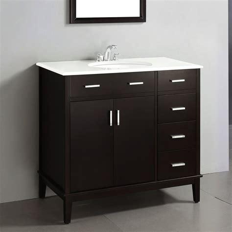 simpli home urban loft  single bathroom vanity set