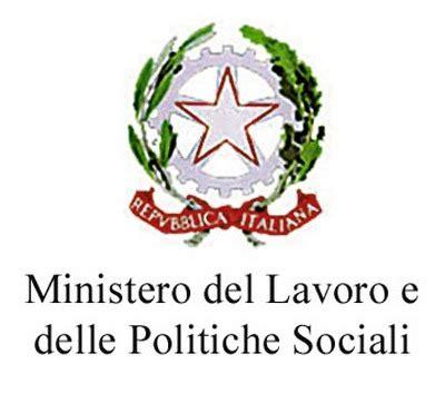 Logo Ministero Interno by Ministero Lavoro Le Caratteristiche Della Tessera Di