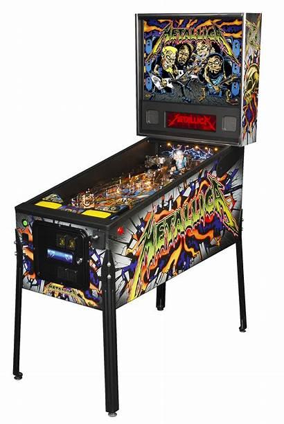 Metallica Pinball Pro Led Stern Machines Premium