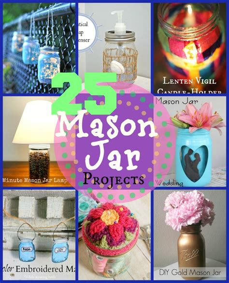 Glass Candle Holders Diy Perserving Jar Satine Paint by 25 Jar Crafts Happy Hour Projects