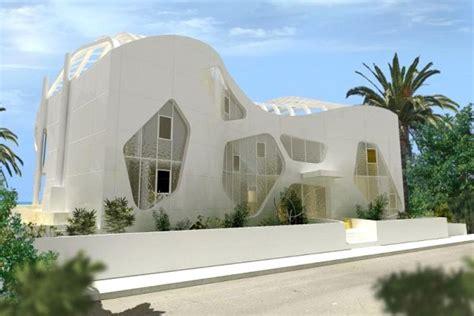 Futuristic Villa In Vienna by Futuristic Luxury Villa In Cyprus Aura By Mobius Design